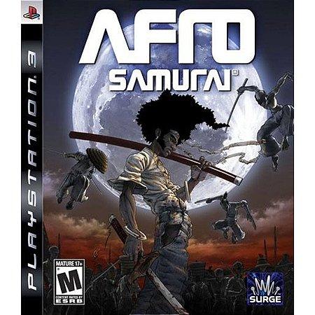 PS3 Afro Samurai [USADO]