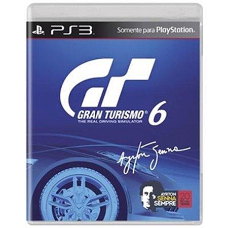PS3 Gran Turismo 6 [Inclui DLC para acesso a conteúdo exclusivo Ayrton Senna]