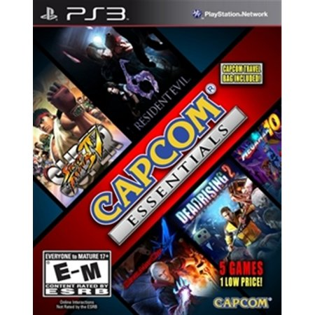 PS3 Capcom Collection 2 - [Devil May Cry 4 + Super Street Fighter 4 + Megaman 10]
