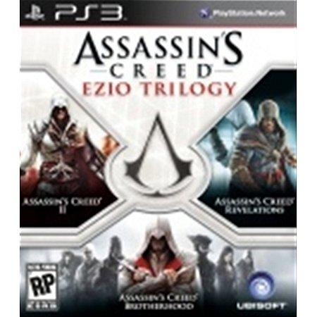 PS3 Assassin´s Creed: Ezio Trilogy [USADO]