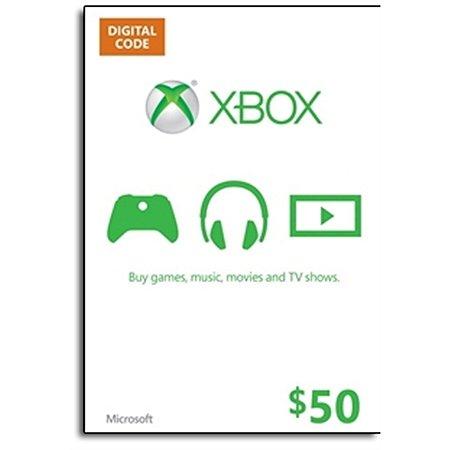 Xbox LIVE Gift Card $50