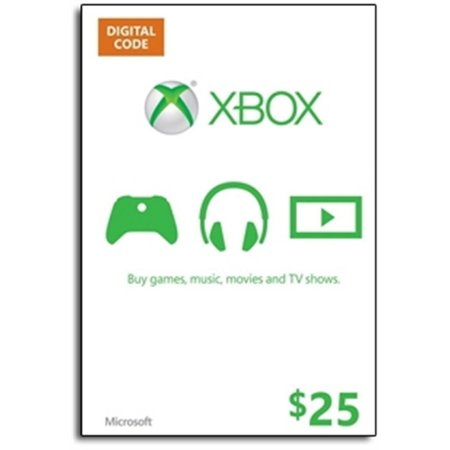 Xbox LIVE Gift Card $25