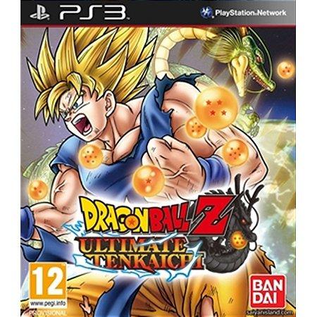 PS3 Dragon Ball Z Ultimate Tenkaichi [USADO]