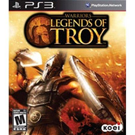 PS3 Warriors: Legends of Troy [USADO]