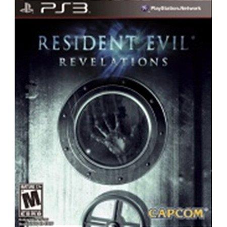 PS3 Resident Evil Revelations [USADO]