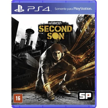 PS4 InFAMOUS Second Son [USADO]