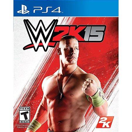 PS4 WWE 2K15 [USADO]