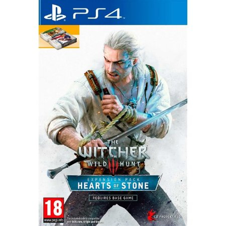 PS4 The Witcher 3: Wild Hunt - Heart of Stone Expansion Pack