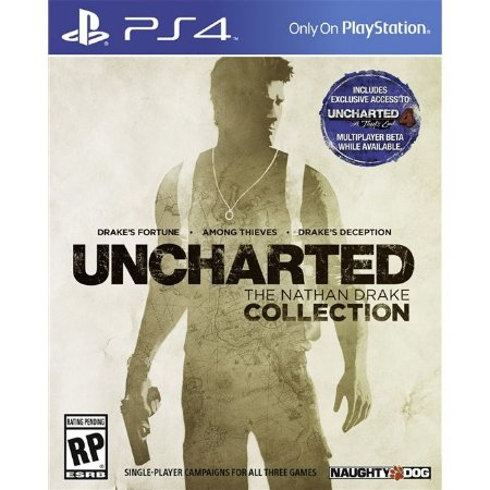 PS4 Uncharted: The Nathan Drake Collection [USADO]