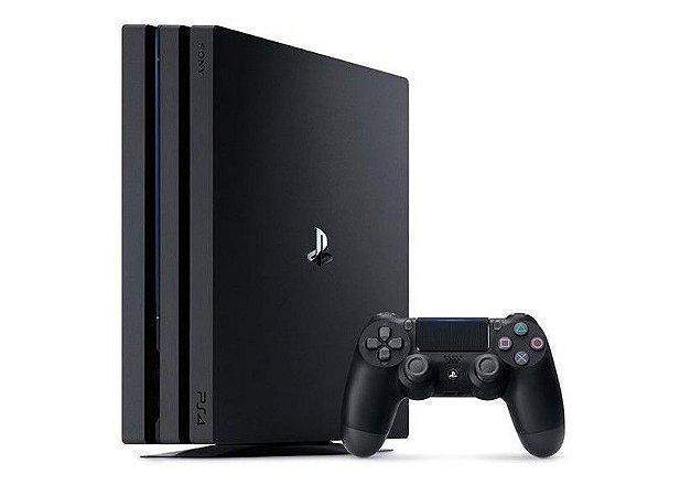 Playstation 4 Pro 1TB Preto Seminovo