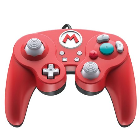Switch Controle Com Fio Fight Pad Pro GameCube Style Power A