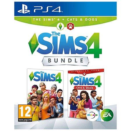 PS4 The Sims 4 Bundle Pets [Gatos e Cães] [USADO]