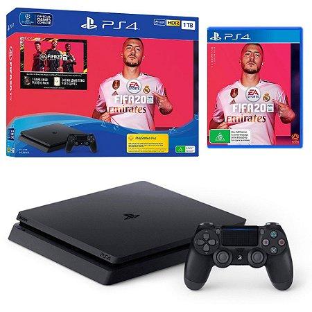PlayStation 4 Slim 1TB com FIFA 20