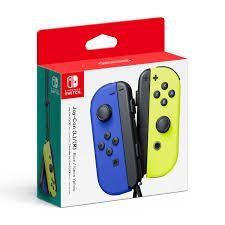 Switch Controle Joy-Con Direito e Esquerdo Blue e Neon Yellow PAR
