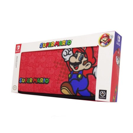 Switch Case Stealth Mario Vermelha PowerA
