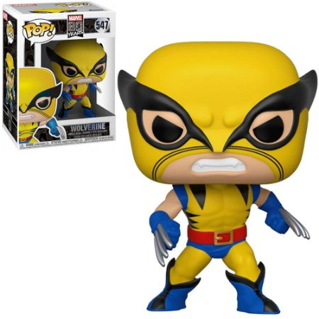 Funko Pop Marvel 80th First Appearance Wolverine 547