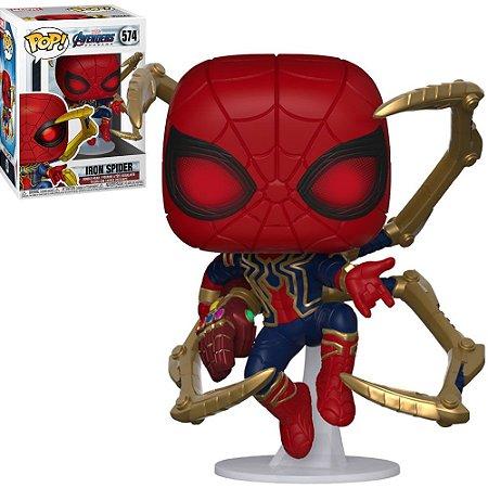 Funko Pop Marvel Avengers Endgame Iron Spider With Gauntlet 574