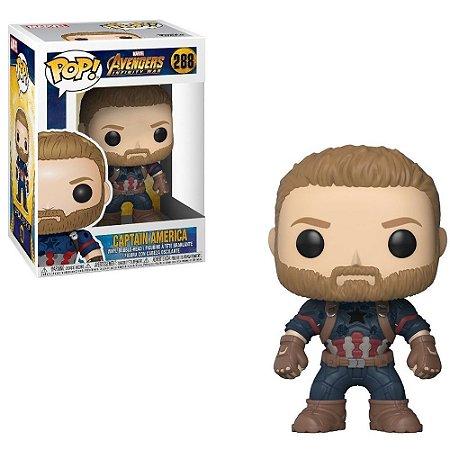 Funko Pop! Marvel: Avengers Infinity War - Captain America 288