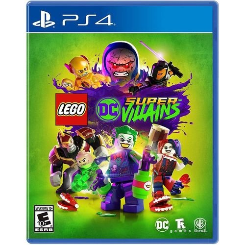 PS4 Lego DC Super Villains [USADO]