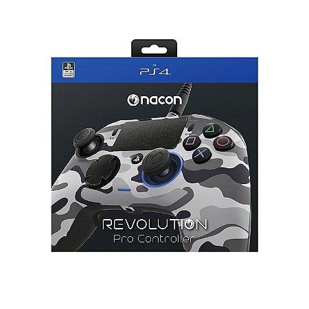 PS4 Pro Controller Revolution Nacon 2 Cinza Camuflado