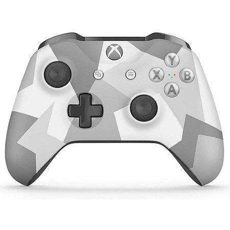 Xbox One Controle OEM Sem Fio Modelo S Bluetooth Winter Forces (Sem Caixa)