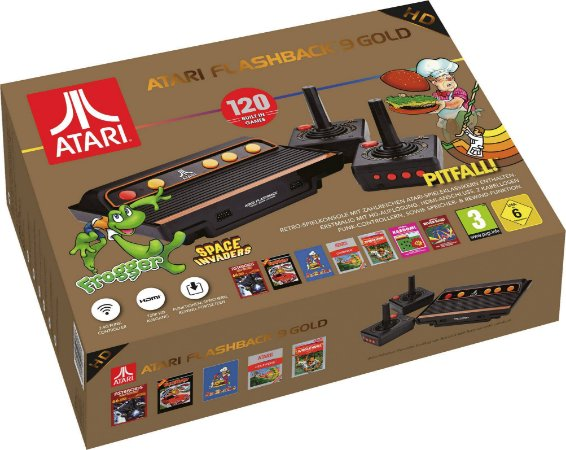 Console Atari Flashback 9 Gold Edition