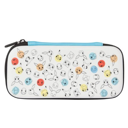Switch Lite Case Stealth Kit Pokemon Face and Dots PowerA