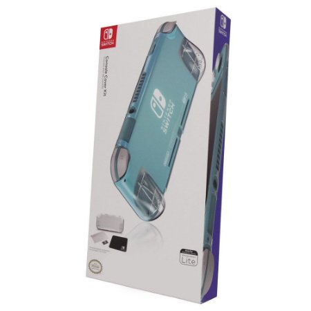 Switch Lite Case Console Cover Kit Transparente PowerA