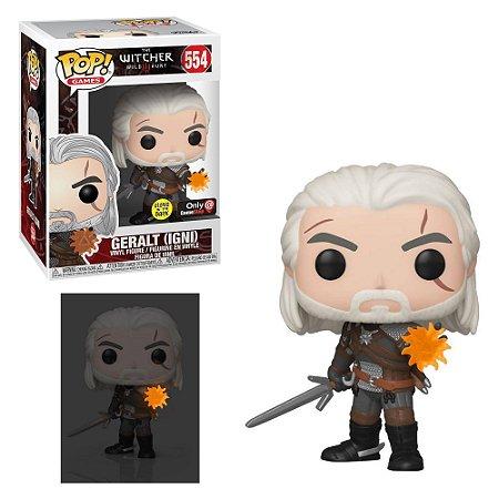 Funko Pop The Witcher Geralt 554