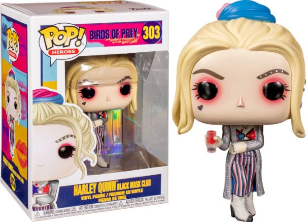 Funko Pop Harley Quinn Black Mask 303