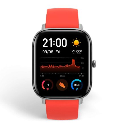 Relógio Smartwatch Xiaomi Amazfit GTS A1914 Vermillion Orange