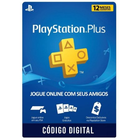 Playstation PSN Plus 12 meses