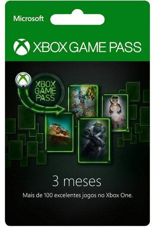 Xbox One Game Pass 1 Mês
