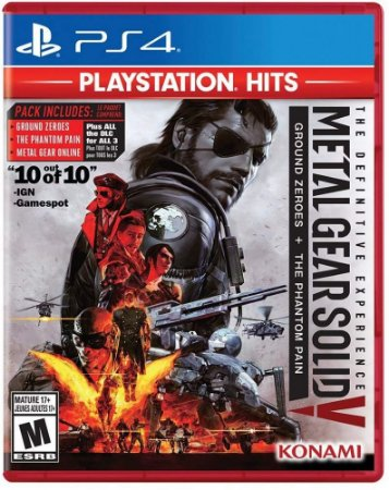 PS4 Metal Gear Solid V:The Definitive Experience