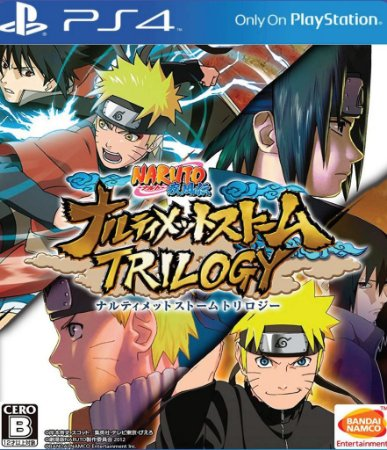 PS4 Naruto Shippuden Ultimate Ninja Storm Trilogy