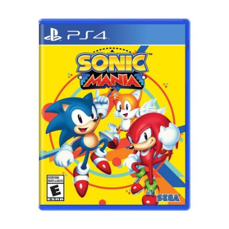 PS4 Sonic Mania