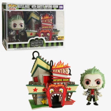 Funko Pop Beetlejuice With Dante's Inferno Room 06