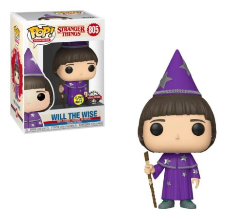Funko Pop Stranger Things Will The Wise - Glows in the Dark - Special Edition 805