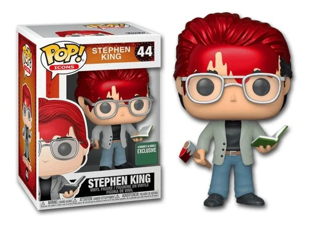 Funko Pop Stephen King w/ Axe and Book Special Edition 44