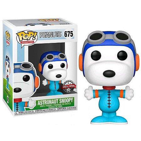 Funko Pop Peanuts Astronaut Snoopy Special Edition  675