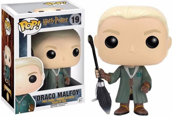 Funko Pop Harry Potter - Quidditch Draco Malfoy Special Edition 19