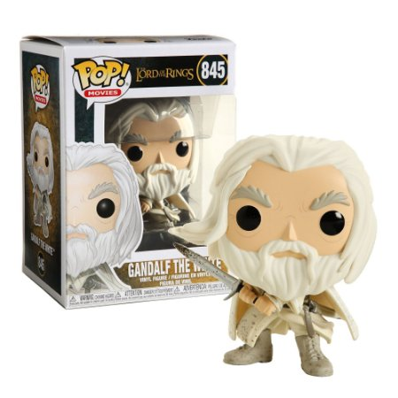 Funko Pop The Lord of the Rings - Gandalf the White Special Edition 845