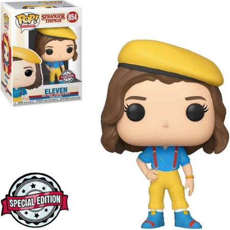 Funko Pop Stranger Things Eleven (Yellow Outfit Special Edition) 854