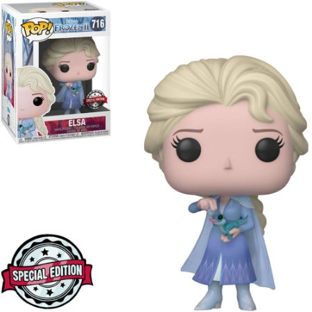 Funko Pop Frozen II - Elsa with Bruni Special Edition 716