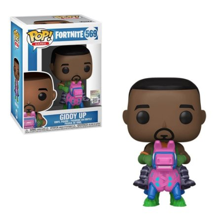 Funko Pop Fortnite 3 Giddy UP 569