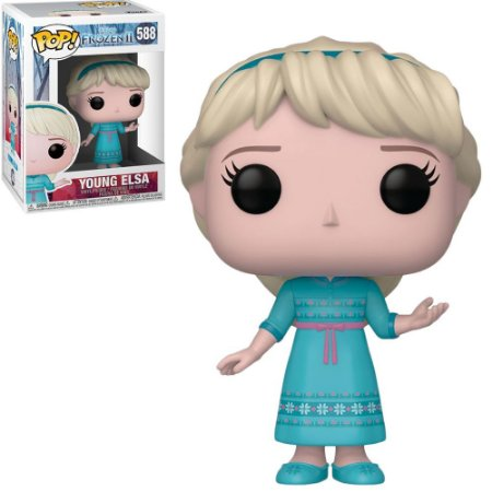Funko Pop Disney Frozen II Young Elsa 588