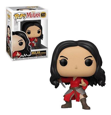 Funko Pop Disney Mulan Live Mulan Warrior 637