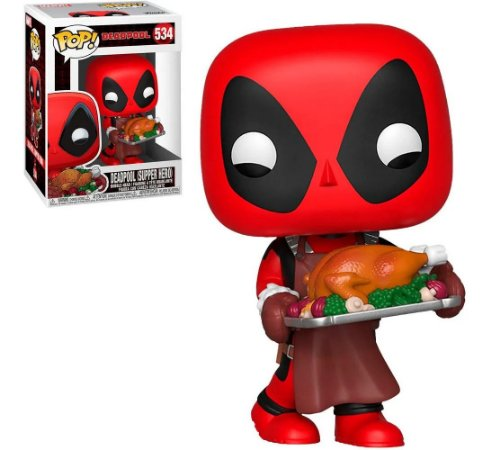 Funko Pop Marvel Holiday Deadpool Super Hero 534