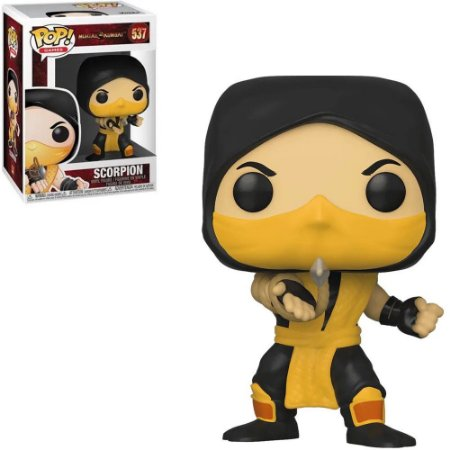 Funko Pop Mortal Kombat XI Scorpion 537