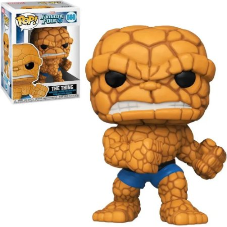 Funko Pop Marvel Fantastic Four 4 The Thing 560